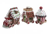 Ceramic Gingerbread House