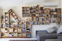Bookshelves / Custom  made bookshelves by Select Custom Joinery.