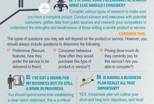Business infographic startups