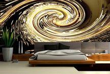 Abstrakcja / Abstrakcyjne dekoracje ścian.