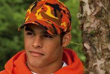 Custom Embroidered Camo Hats and Caps / Custom Embroidered Camo Hats and Caps