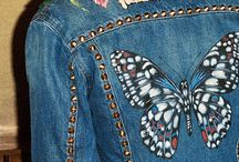 Denim ideas / Ideas for up cycling your denim clothes