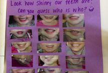 Dental week for preschool  / by Andrea Kelley