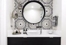 Wallpaper toilet/bath