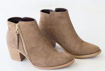 Fall Boots/Booties