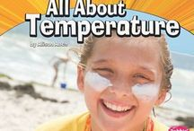 Science - Gr. 2.D - Hot and cold temperature / Children's literature connecting to Alberta Education science curriculum. Overview from Alberta Education:Students learn that materials are sometimes changed by heating or cooling and that by observing such changes, they can infer how hot or cold an object is. They learn that thermometers provide a helpful way to measure and describe the hotness or coldness of things—a more reliable way than provided by their own senses. Students observe that temperatures can go up and down...