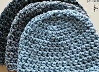 blue beanies