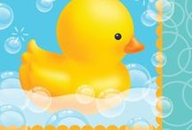 Rubber Ducky Baby Shower Decorations / Rubber Ducky Baby Shower Ideas for the cutest rubber duckie theme baby shower. We have added some of our own favorite Rubber Ducky party supplies, and added some other ideas from Pinterest members on how to throw the cutest Rubber Ducky Theme Baby Shower ever! http://www.ezpartyzone.com/cat_rubber_ducky.cfm