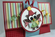 Giving into the Owl / I said I would not pin samples with this incessant owl! Sigh... he's so stinkin' cute... I'm giving in.