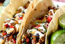Burritos, tacos