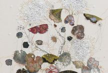 Embroidery & Illustration / Drawing with stitch; beautiful examples of embroidery as illustration