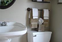 bathroom storage / by Cassidy Mathews