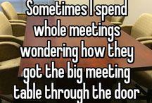 Meeting humor