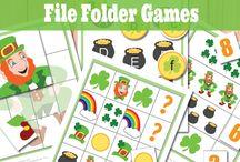 File Folder Games Free / Free file folder games and activities to print :)