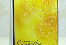 Sympathy Cards by Karen Dunbrook- Snippets