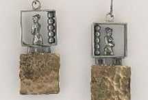 Jewelry / Hand crafted silver, gold, mixed media jewelry by American artisans
