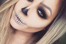 Halloweeni sminkek