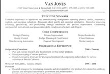 Areas of expertise resume