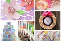 Wedding Candy Buffet / Inspirations for your wedding, bridal shower, engagement party, wedding morning or other bridal celebrations' dessert bars or buffets!