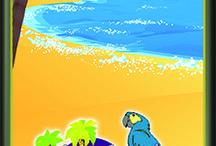 Cornhole Beach & Girls