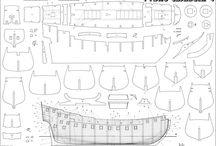 ship model plans