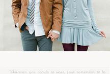 What to Wear Inspiration | Couples & Engagement Portraits