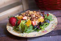 Salads / Salad recipies and salad dressing recipies