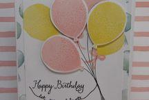 Balloon Celebration - Stampin' Up / by Diana Crawford