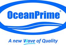 OceanPrime / a New Wave of Quality for frozen fish & seafood.  Quality products and the best price possible.