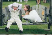 Flower Girls and Ring Bearers / Adorable children in wedding ceremonies