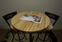 Handcrafted Butcher Block Tables