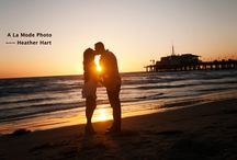 Engagement Photo Session - Couples Photography / Beach Engagement Photo Session by Heather Hart of A la Mode Photo, Santa Monica California For more examples of my work, see www.alamodephoto.com
