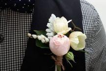 Boutonnieres / Buttonholes & Cake Flowers
