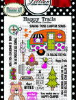 Cards_Camping / Happy Trails clear stamps