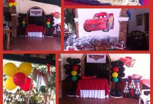 Decoración fiesta cars / Decoración personalizada de Disney CARS