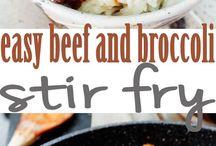 Beef, Lamb, & Pork Dinner Dishes