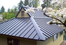Metal Roofing Inspiration / Take a look at these fantastic metal roofing ideas.. Visit http://www.allaboutroofing.co.za/ for more roofing tips