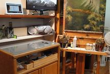 Art Studios And Ideas / Fabulous art studio ideas
