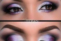 Schminken - Augen Make up
