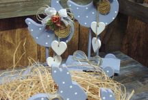 Painted wood craft CP