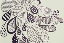 Zentangle van anderen / Zentangle ideeen