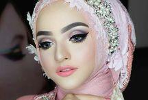 Make Up Wedding Hijab
