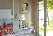 Beach cottage / My favourite board, ideas for a beach cottage!