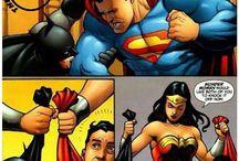 wonder woman ,batman and superman