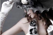 "Fashion""Spring☔️Summer-Black&White"""