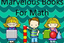 Marvelous Math Books / This board has marvelous books to use during math lessons.