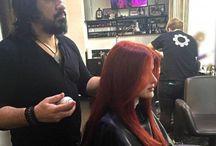 Прически / Актуальные стрижки, примеры окрашивания волос, укладка волос, мелирование, окрашивание в один тон, кератиновое выпрямление и ламинирование - услуги салонов красоты Украины.