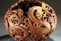 The soul of a tree / Woodcarving, woodworking, woodturning and just beautiful wood / by Mike Hill