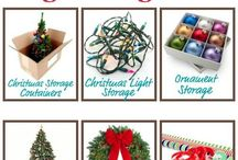 Holiday Organizing & Storage / Holidays are meant to be celebrated, and often we've got home decor, decorations, and other items that we keep specifically for use and display around certain holidays. Here's ideas for organizing and storing these items when they're not in use, and for quick access when you do need them.