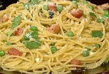 Mama  Mia's Pastaria.... / pasta recipes... / by Sylvia Williams